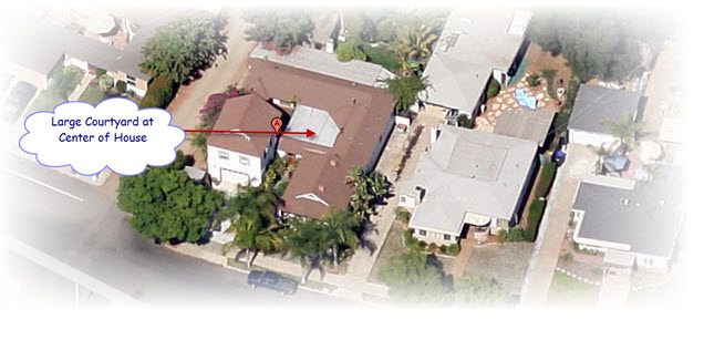 Aloha to our latest flip gabhart investments inc for House with courtyard in center