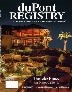 It's official – TLH is the July cover home in the duPont Registry