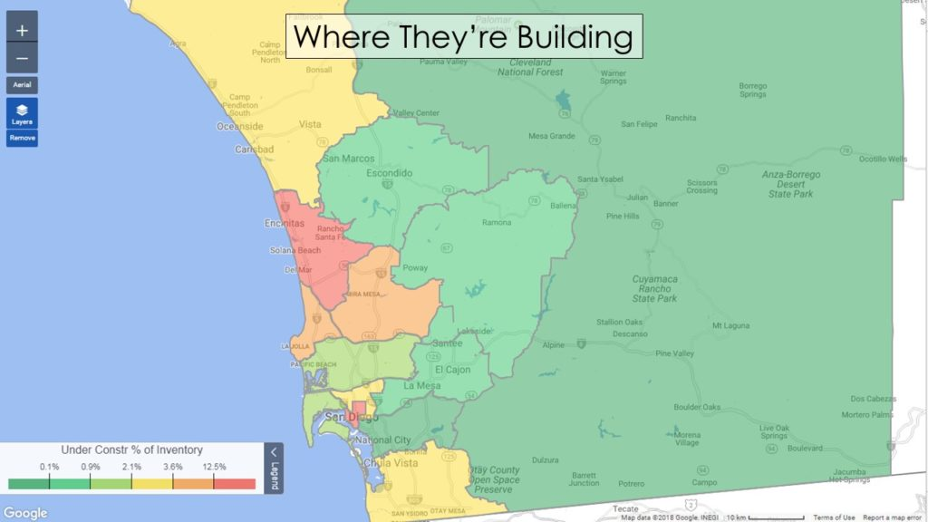 San Diego Heat Map Construction