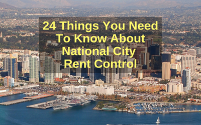24 Things You Need to Know About National City Rent Control
